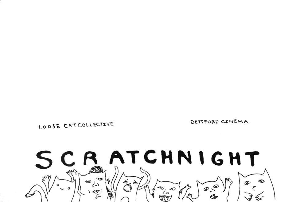 Scratch Theatre Night Logo DC
