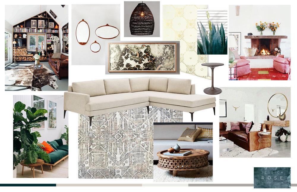 Bohemian Living Space - Santa Rosa, Ca