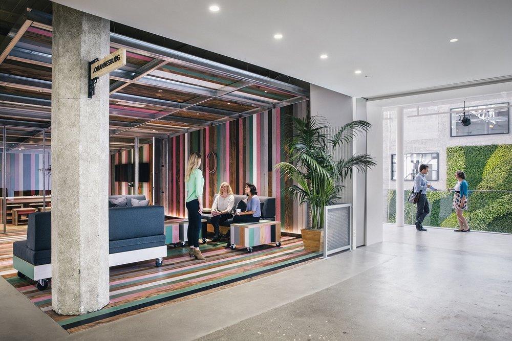 Airbnb   San Francisco headquarters , photo by Mark Mahaney