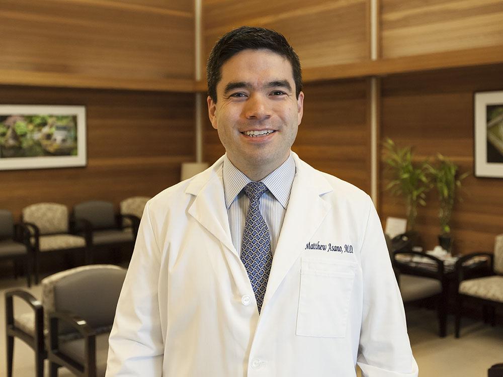 Matthew Asano, MD, retina specialist at Retina Care Center in Medford, OR