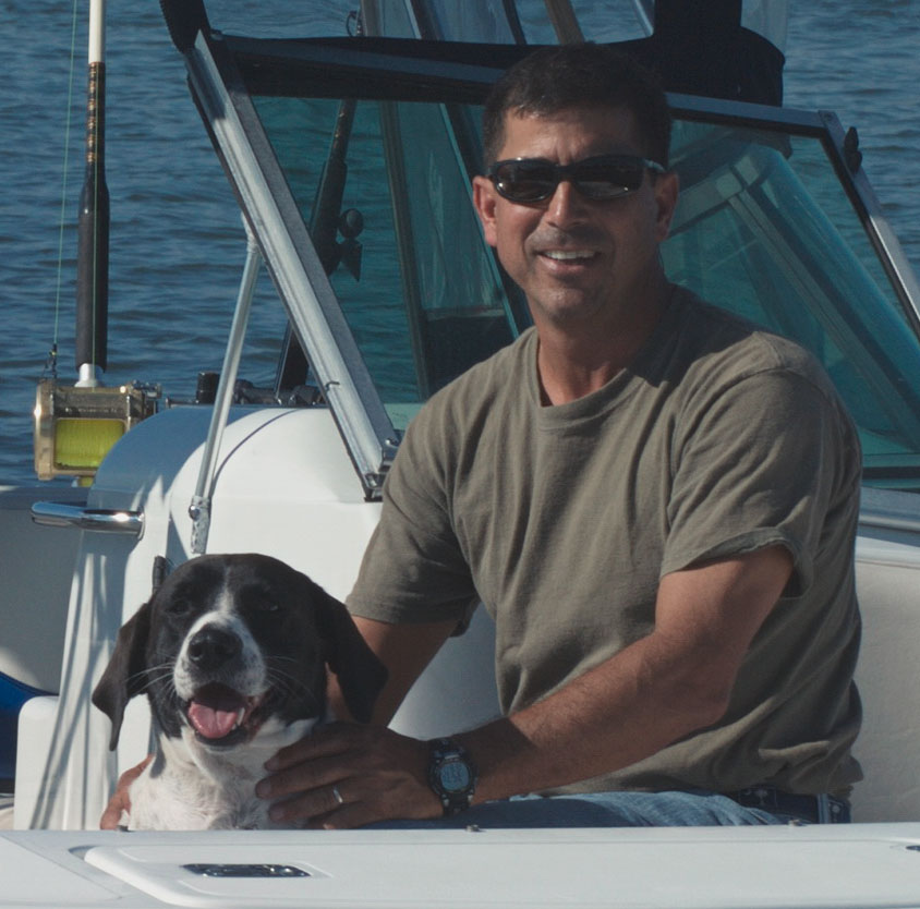 "Captain John and First mate ""Fetch"""