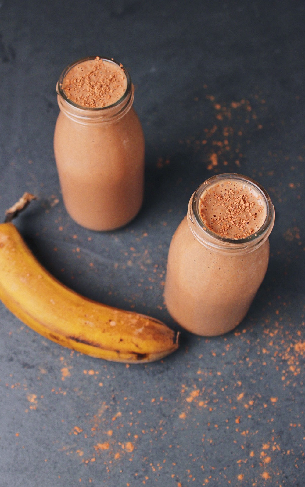 Chocolate Peanut Butter Banana Top