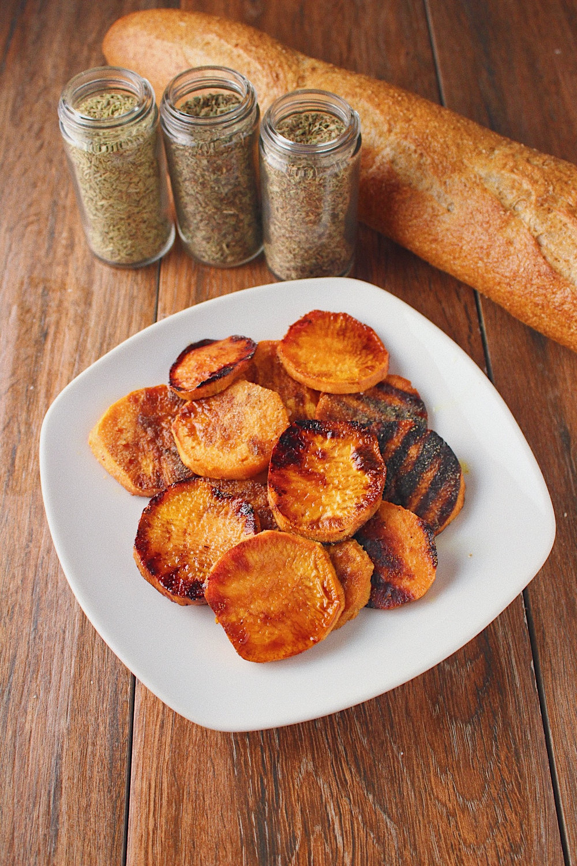 Balsamic Glazed Sweet Potatoes