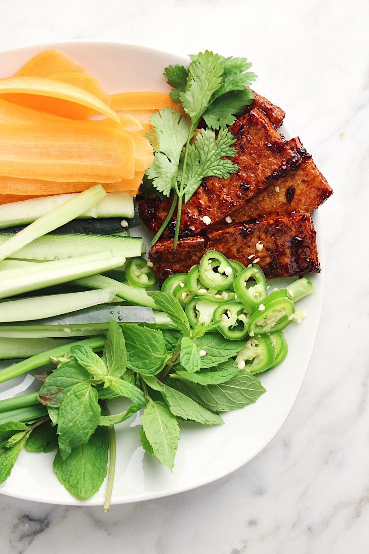 Tofu Spring Roll Ingredients