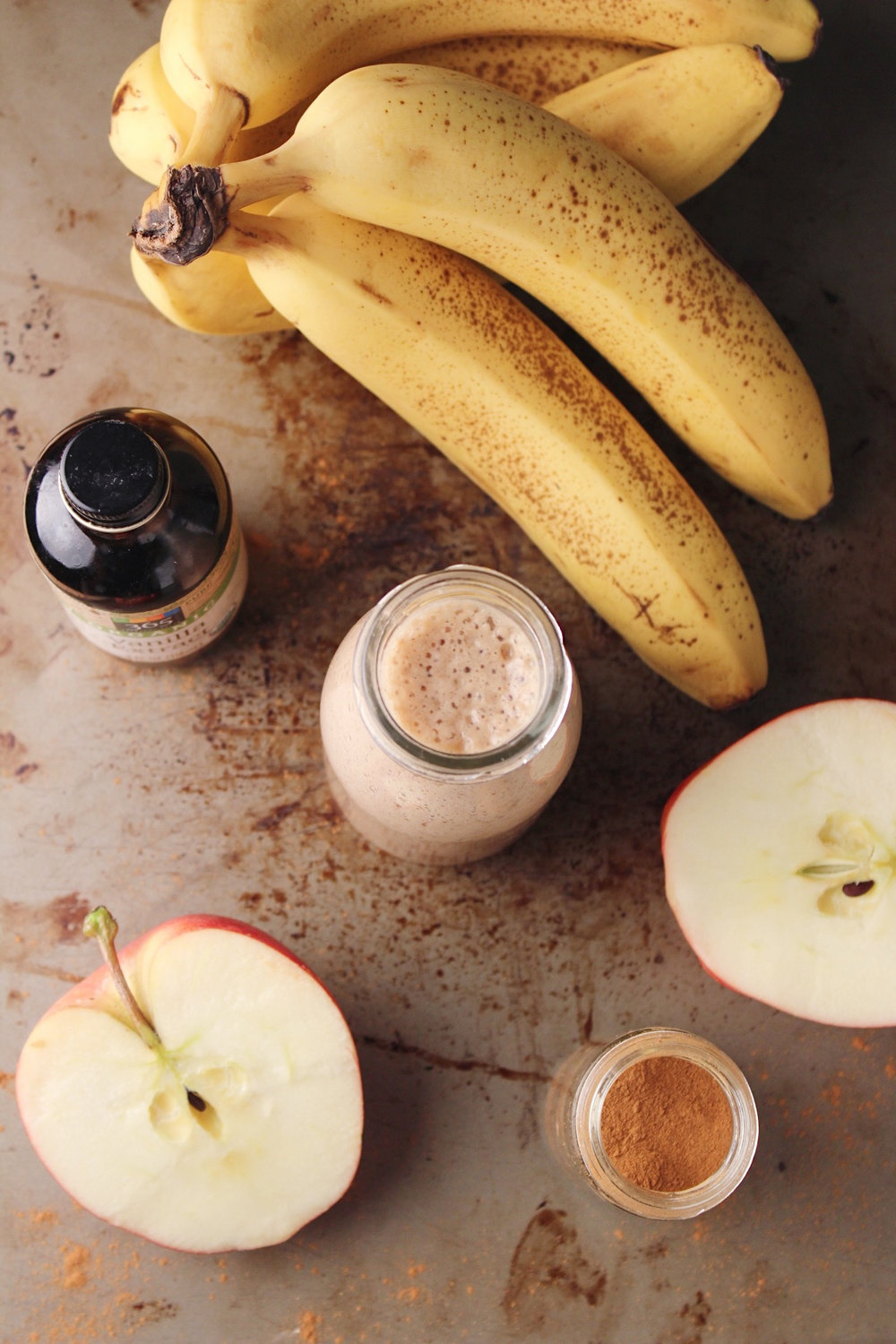 Cinnamon Apple Smoothie Above