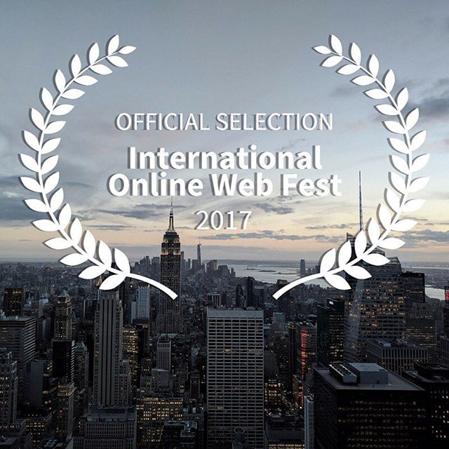 We're so thrilled and honored to have been selected by @internationalonlinewebfest via @filmfreeway!