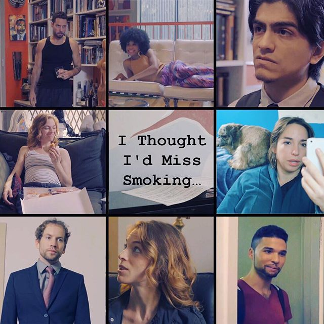 "#flashbackfriday to our second episode, ""I Thought I'd Miss Smoking..."""