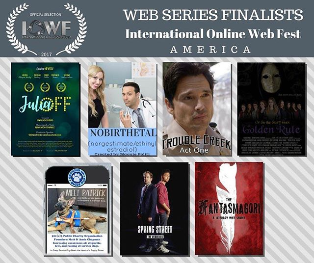 We're so thrilled to have been picked as finalists by @internationalonlinewebfest!!!