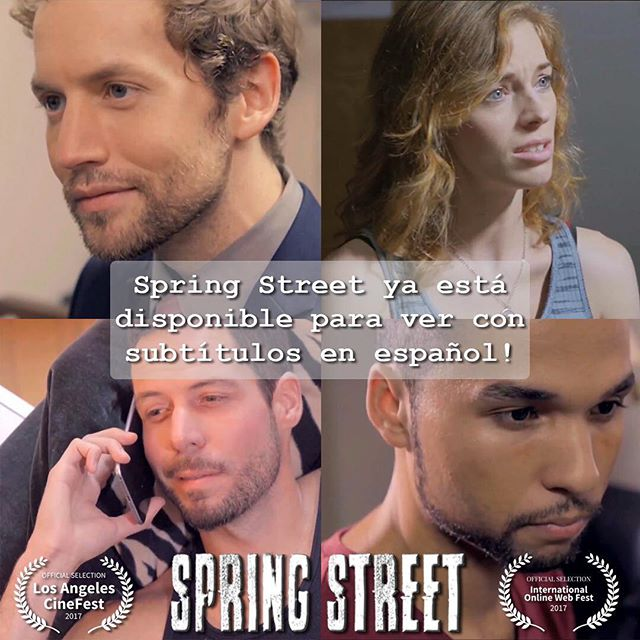 Spring Street ya está disponible para ver con subtítulos en español! (Spring Street is now available to watch with Spanish subtitles!)