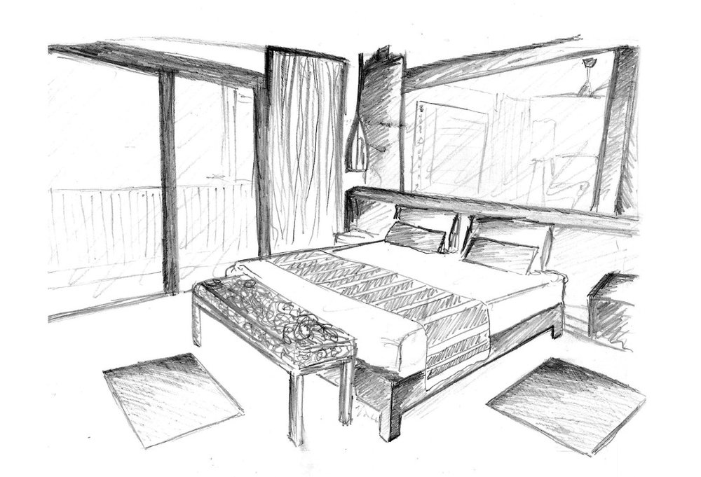 Interior Design Sketches For Beginners