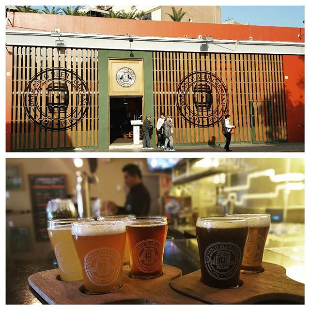 When your twelve hour layover gives you enough time to explore Lima, Peru it's the perfect excuse to stop by Barranco Beer Company for a mid-afternoon flight. #HopsAndStops