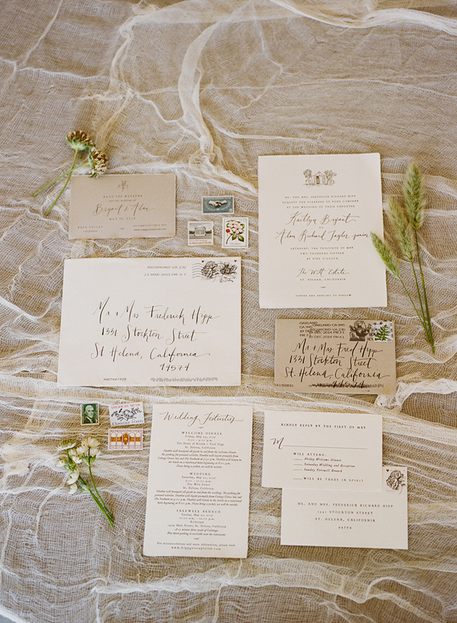 02-simple-calligrahy-wedding-stationery-cheese-cloth.jpg