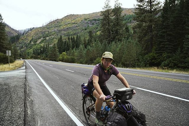 Today we made it over our last big pass before the ocean. I don't look too stoked in this picture but I felt super strong on this climb and the summit came much sooner than expected. The downhill was a dream and it definitely feels like fall in the Cascades. . Tomorrow we will continue toward sea level, and the culmination of this adventure. (And the start of many, many more.) . Come see us at the flagship @rei Seattle store on Sept 12th at 6pm. On Sept 13th we will be cleaning up Ravenna Park from 3 to 5pm with the folks at @seattletrailsalliance. Help us #leaveitbetter! Link to info in bio. See you there!
