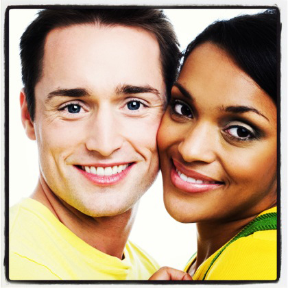 Ethiopian women and black men