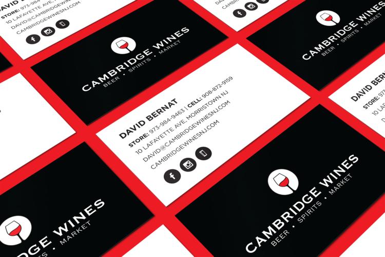 Cambridge wines rebrand ntj design cambridgebusinesscardmockupg reheart Image collections