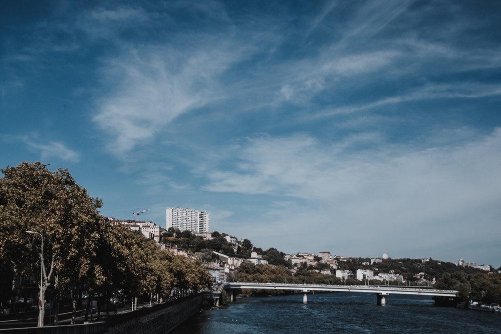 Arrival in Lyon