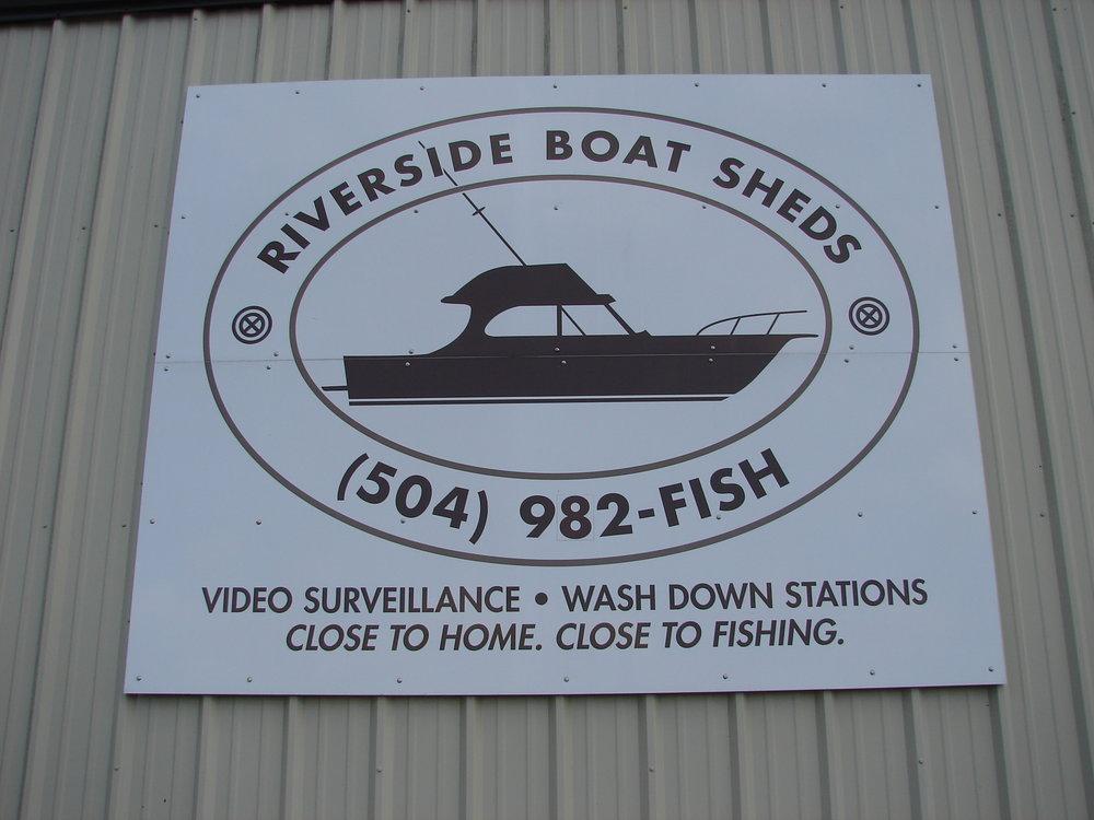 Riverside Boat Sheds   Storage Units