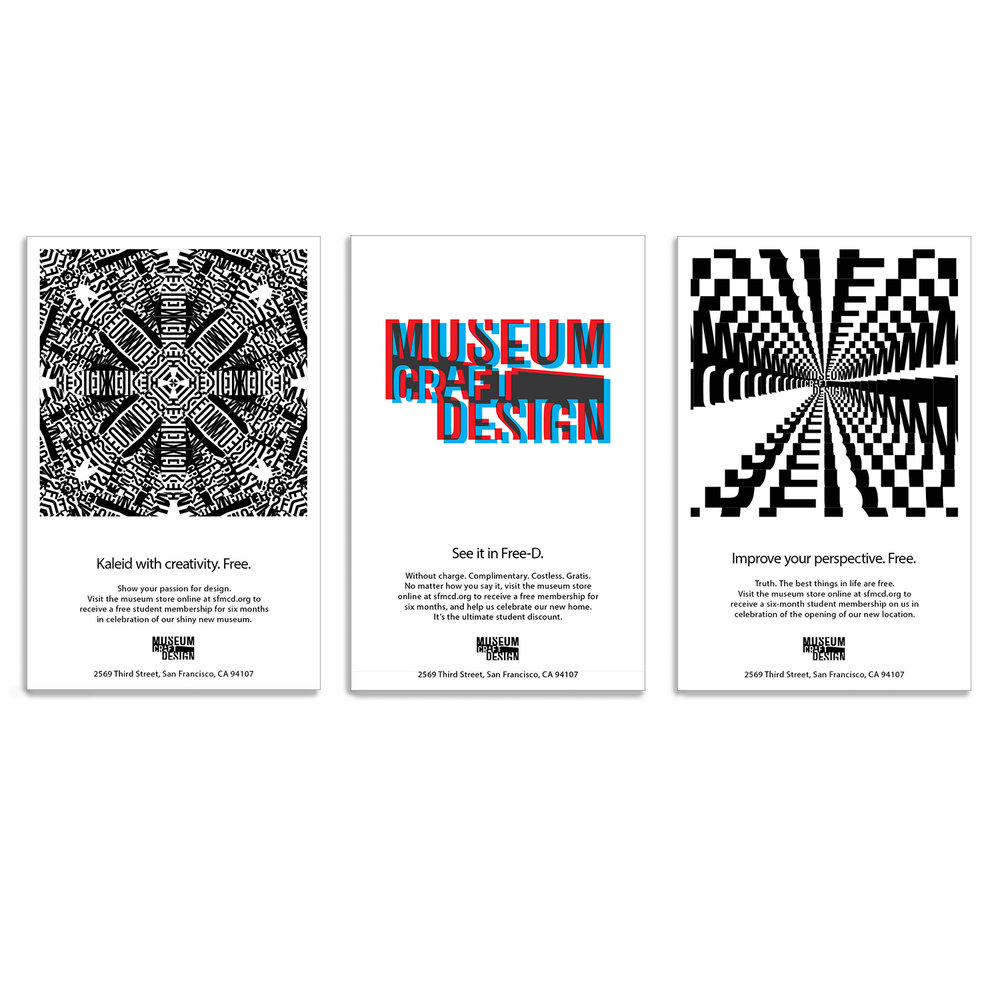 Creative outdoor advertising posters for museum
