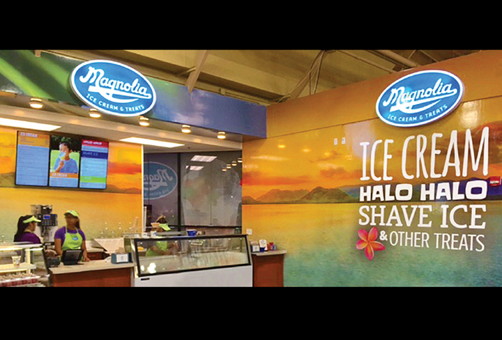 Small business marketing Magnolia Ice Cream