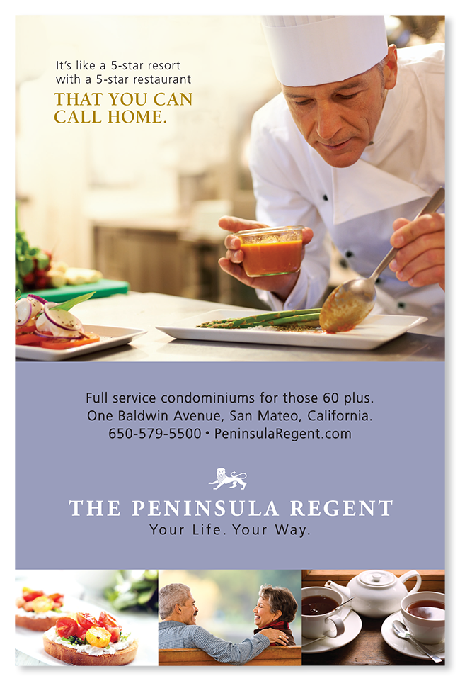 Peninsula Regent marketing and advertising campaign