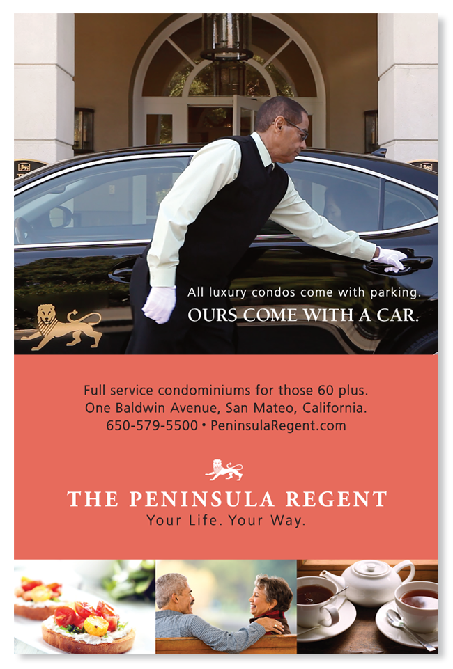 Media planning advertising for Peninsula Regent
