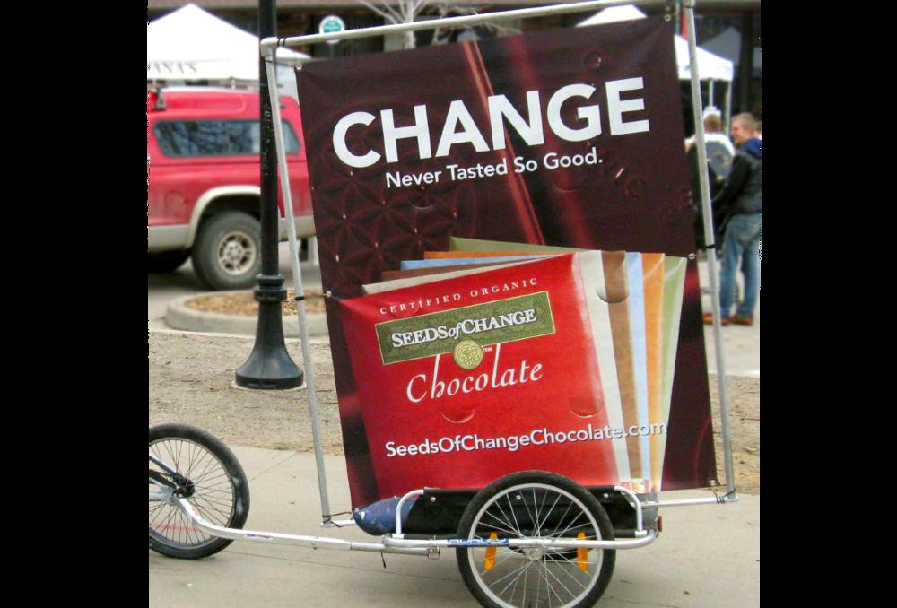 Seeds of Change outdoor advertisement
