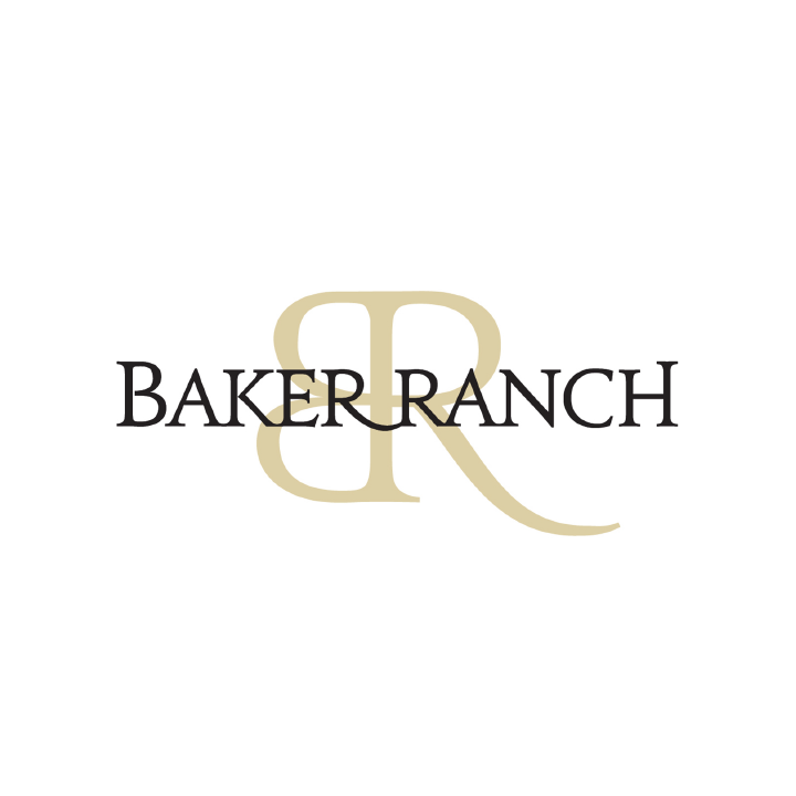 Real estate logo for Baker Ranch
