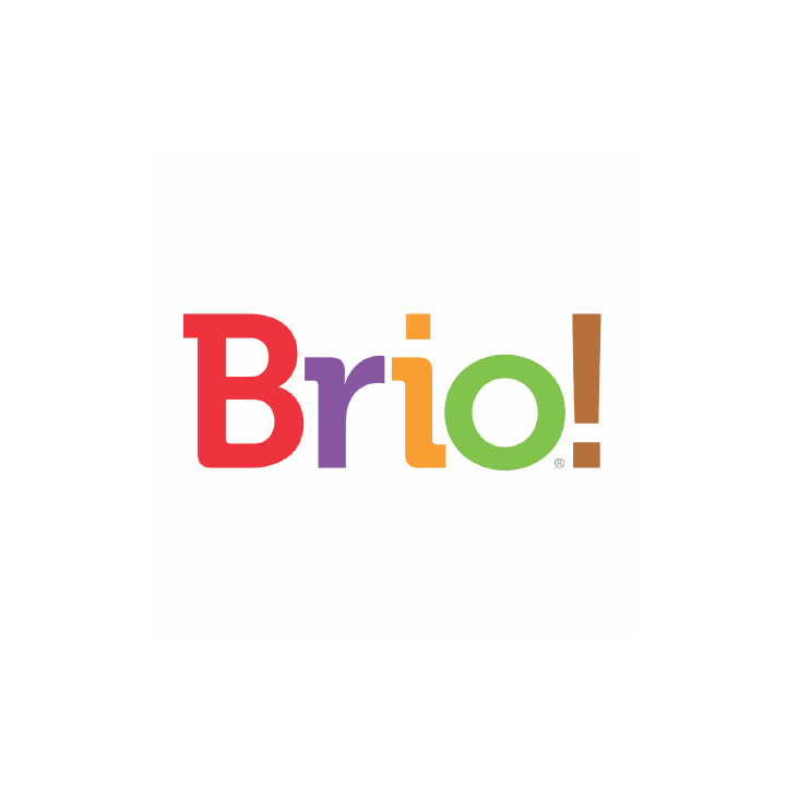 Brio ice cream logo creative