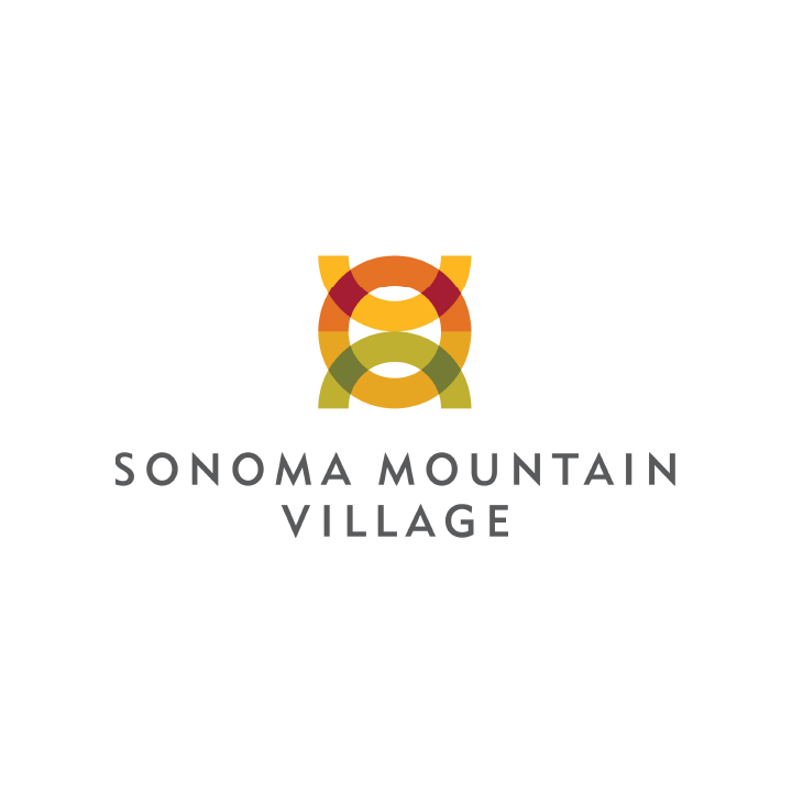 Sonoma Mountain Village logo design
