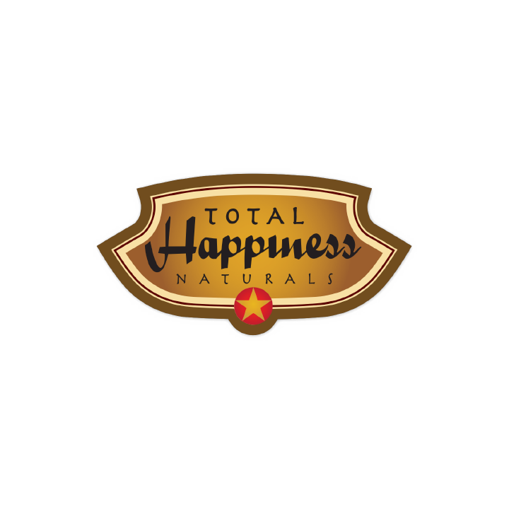 Total Happiness Naturals logo creative