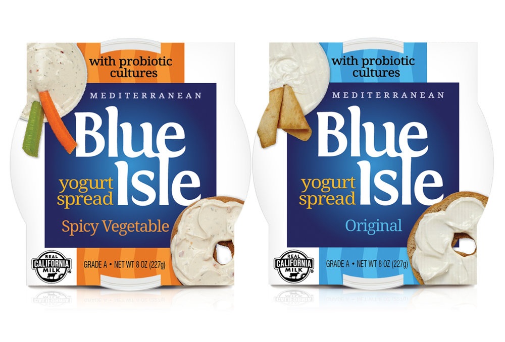 Blue Isle spread brand marketing