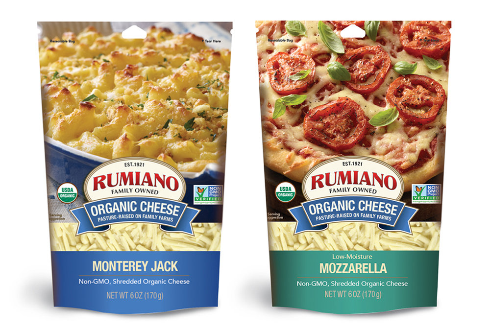 Rumiano cheese brand marketing