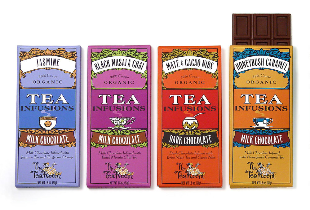 The Tea Room packaging design