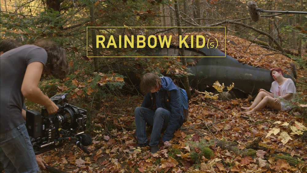 Film / Rainbow Kid(s) - Documentary / 35m      Rainbow Kid(s) follows a director as he makes his first feature film and forms a bond with his lead actor who has Down Syndrome.