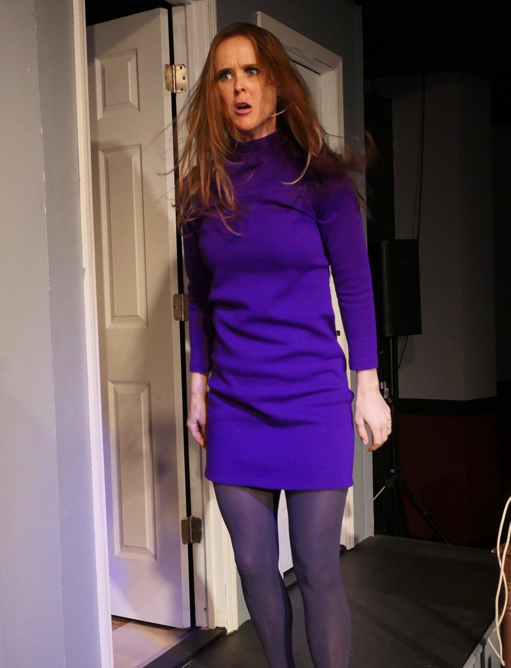 Barefoot purple dress fight.jpg