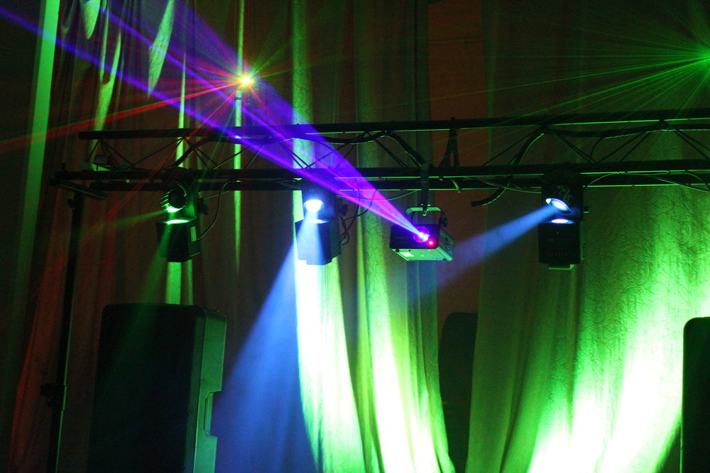 Laser Lighting Hire Lincolnshire