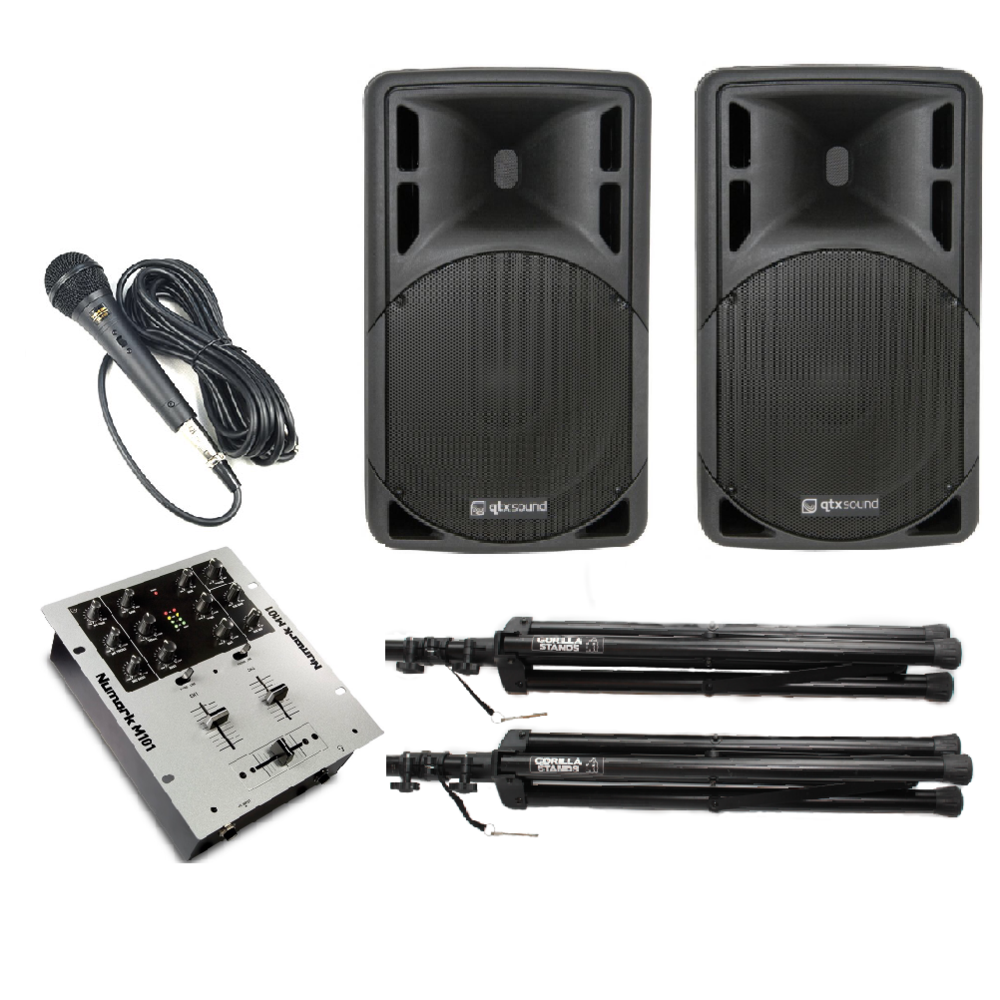 Small Speaker Audio System Hire Lincolnshire