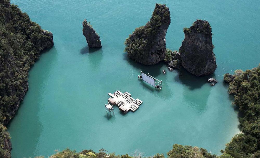 Archipelago Cinema, Ole Scheeren, Yao Noi Island, Thailand. 2012.
