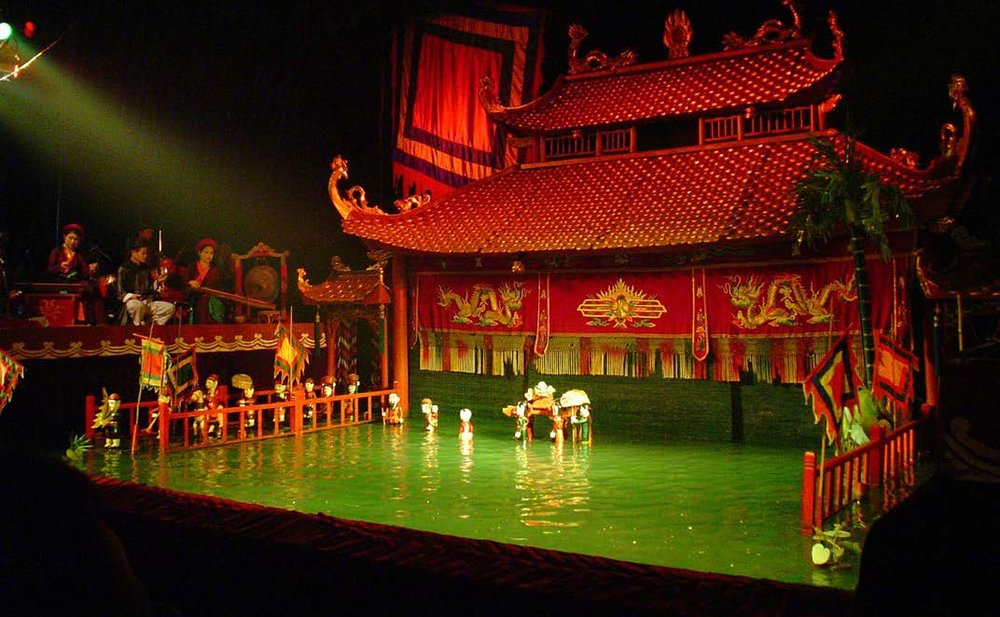 Vietnamese Water Puppet Theater,  11th century.