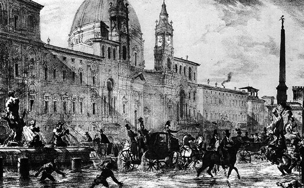 Piazza Navona, Rome, Italy, 1 century, AD.
