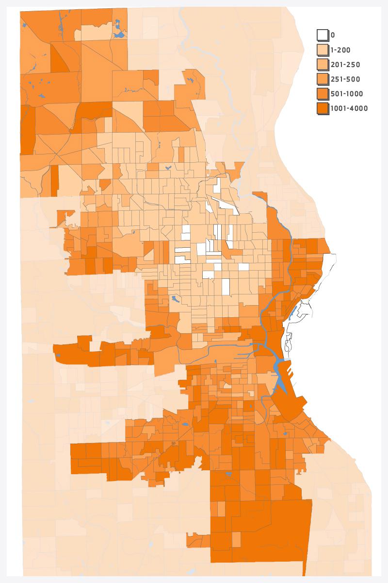 White Population Density