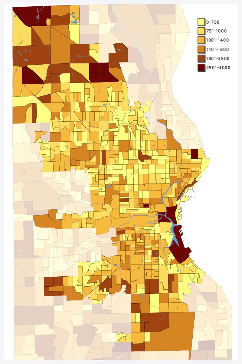Total Population Density