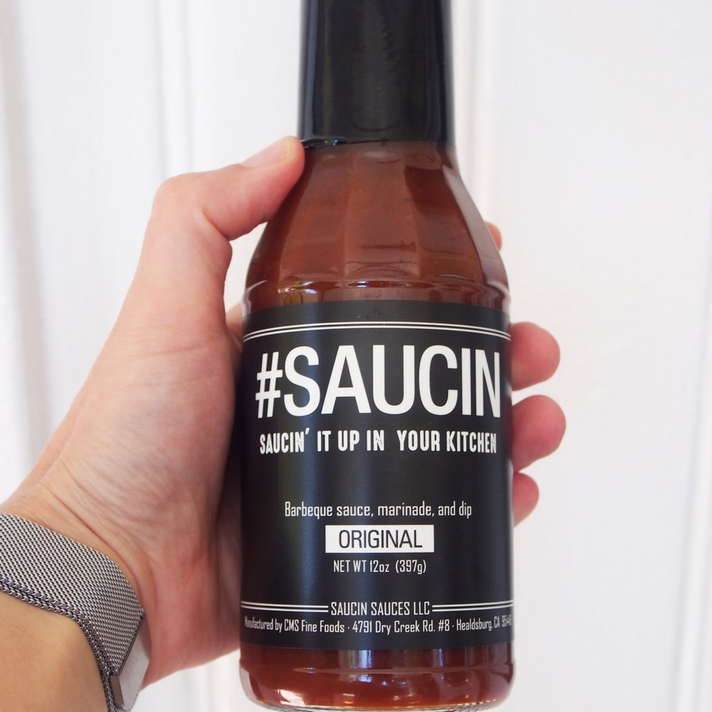 Saucin' Sauces' barbecue sauce is a healthy barbecue sauce! It is low calorie and has real ingredients! Use it on your favorite chicken sandwich, or on eggs. It's a versatile sauce!