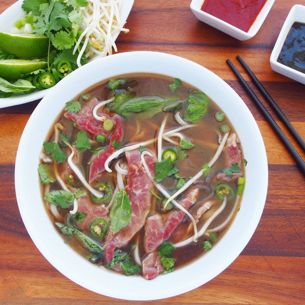 This Beef Pho Recipe is made with Numo Beef Bone Broth. It's an easy pho recipe that is really simple to make!