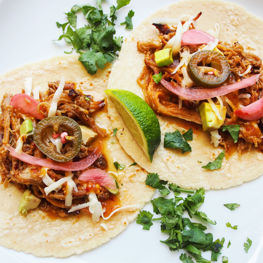 Check out my recipe for 'Kickin' Slow Cooker Carnitas'. Perfect for a flavorful and delicious meal that will have your guests and family thinking you spent hours in the kitchen. Little to no work and JAMMED with flavor.
