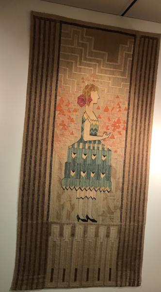 weaving by Loja Saarinen
