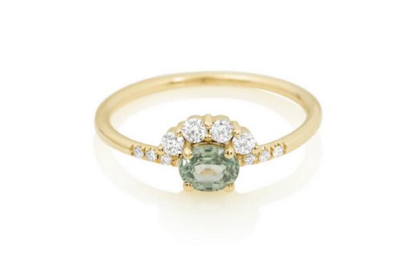 Unique engagement rings under $1000