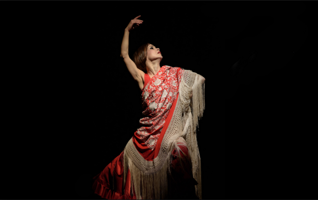 Flamenco dancer Olga Pericet
