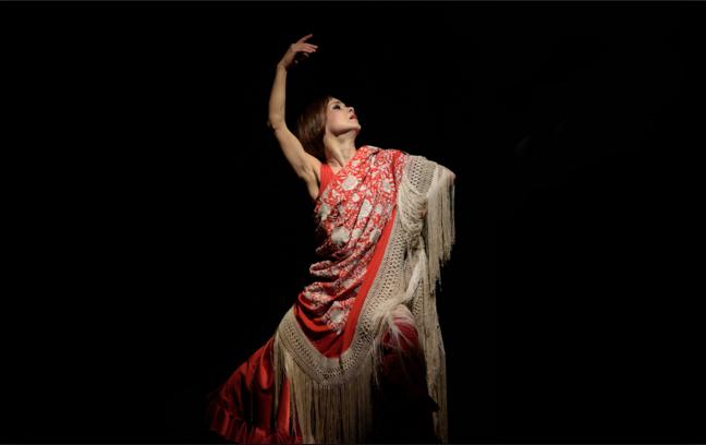 Flamenco dancer Olga Pericet