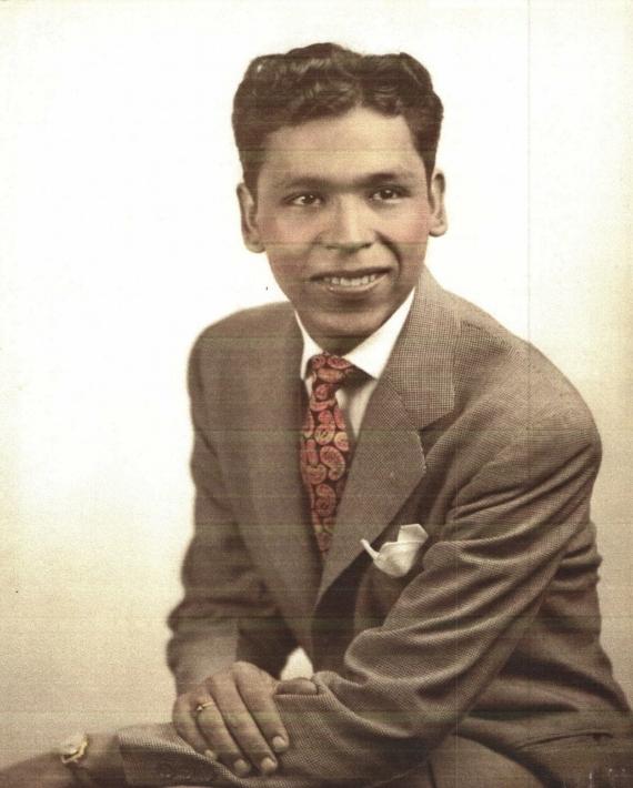 My grandfather, Manuel Najera